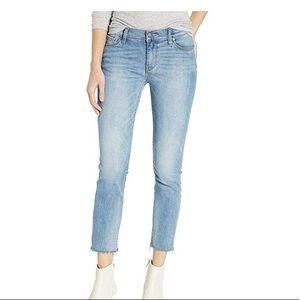 Hudson jeans tally skinny raw hem jeans